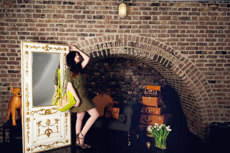 How I Wear - Military Skirt & MCM (Part 2) | Mademoiselle ...