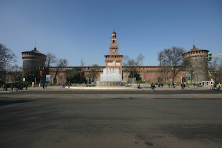 The Castello Sforzesco in Milan