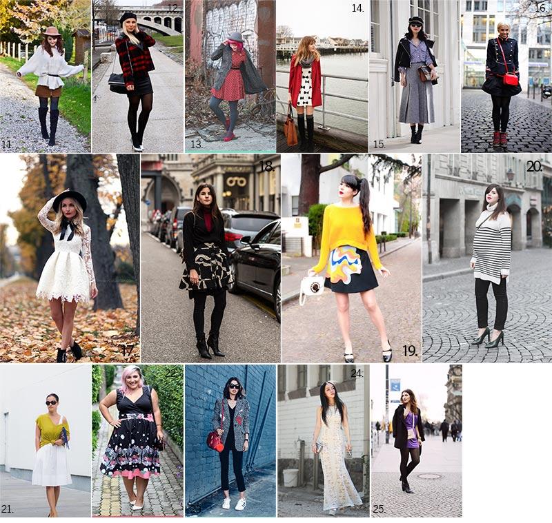 blogosphère mode looks de blogueuses