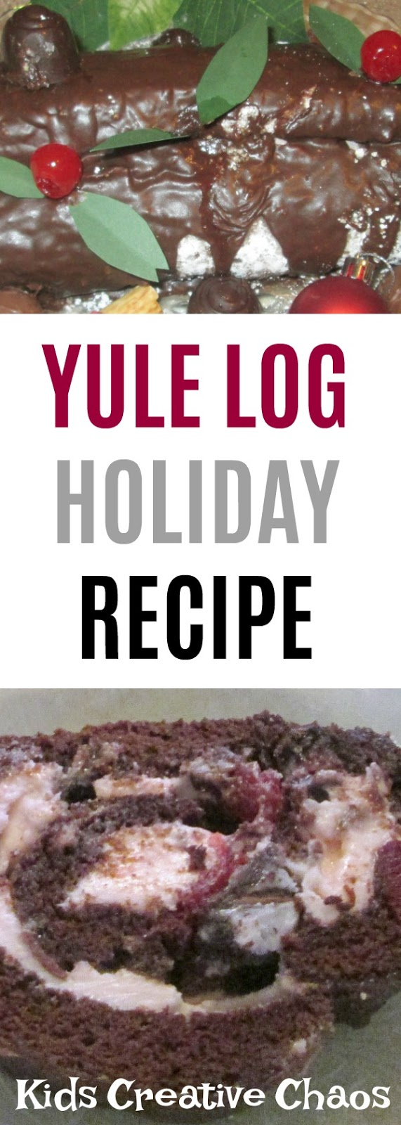Easy Yule Log Recipe