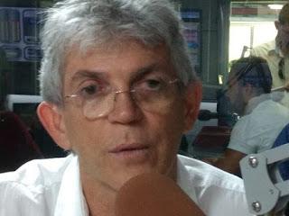 Ricardo Coutinho em defesa de Lula: Se tivesse provas já estaria nos telejornais
