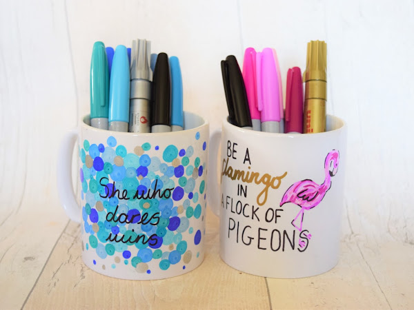 Lifestyle | DIY Sharpie Mugs