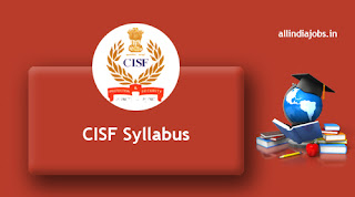 CISF Constable Syllabus