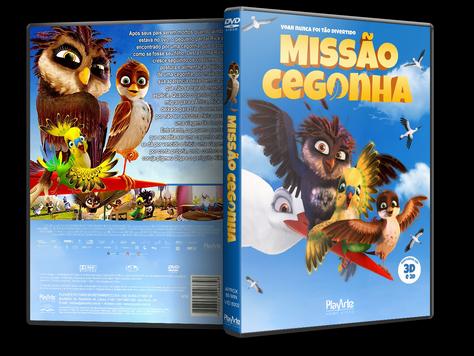 Capa DVD Missão Cegonha [Exclusiva]