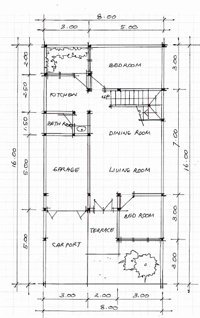 1st floor plan of home image 09