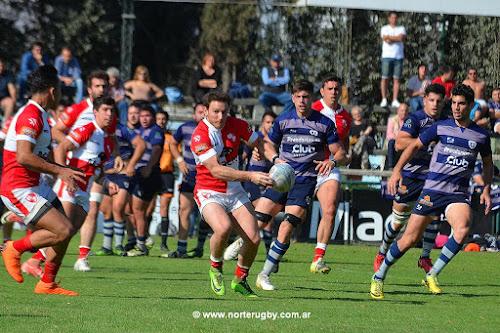 El Colo Larrieu en pleno ataque. Foto de Jorge Skaf para Norte Rugby #RegionalDelNOA