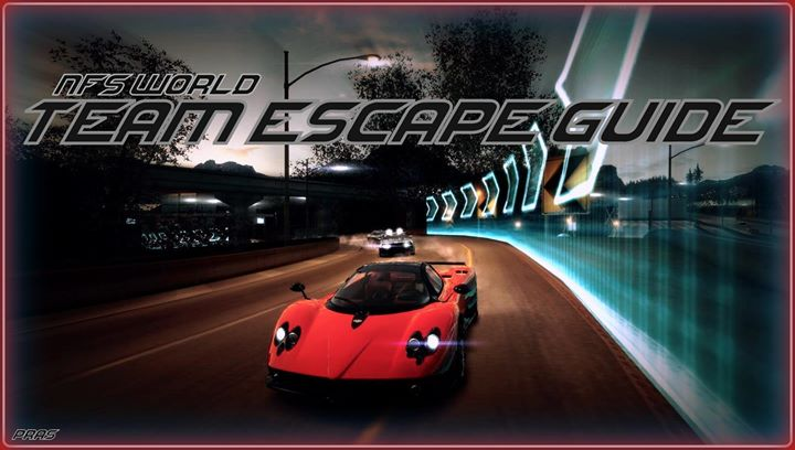NFS World: Team escape guide
