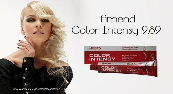 Tonalização Amend Color Intensy 9.89