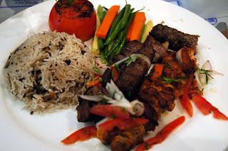 arabic mixed grill with wild rice jpatokal photo