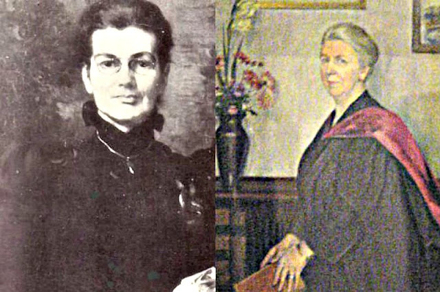 Retratos de Anne Charlotte Moberly (izquierda) y Eleanor Jourdain (derecha). Créditos: Wikimedia Commons