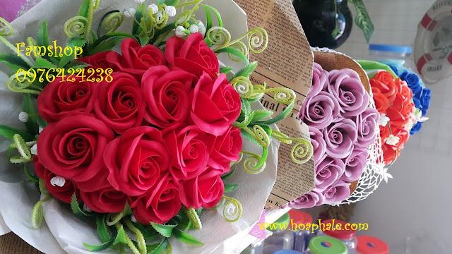Hoa hong sap thom vinh cuu o Ba Vi