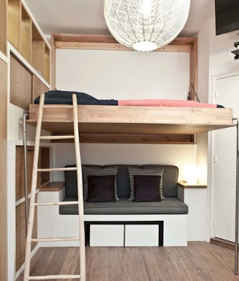 Istana pribadi di dalam rumah adalah kamar tidur 50 Ide Desain Kamar Tidur Minimalis Agar Tampak Luas