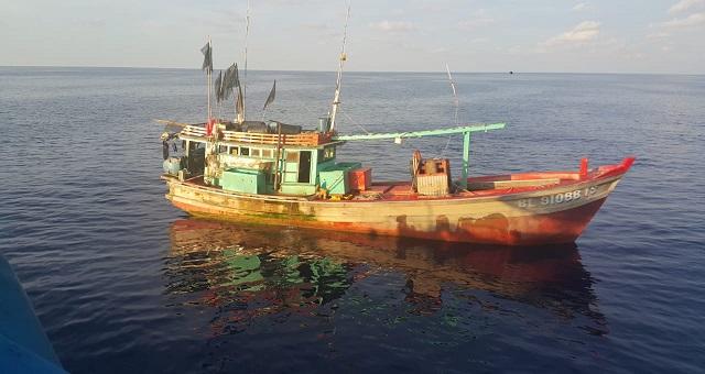 Dua Kapal Vietnam Ditangkap Karena Tanpa Dokumen