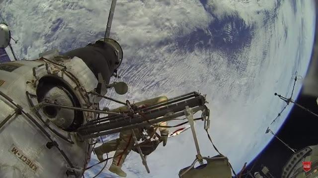 Video Hoax Astronot Jalan-Jalan di ISS, Beredar di Facebook