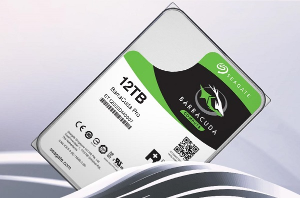 Seagate launches 12TB BarraCuda Pro, world's highest-capacity desktop hard disk drive (HDD)