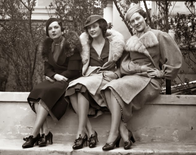 fashion models and styles from the 1930s vintage everyday