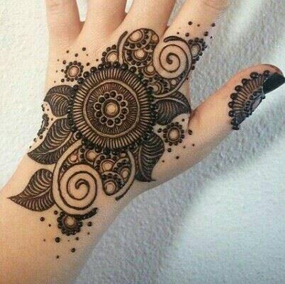 Eid Arabic Mehndi Designs For Girls Women Hands Feet 2016