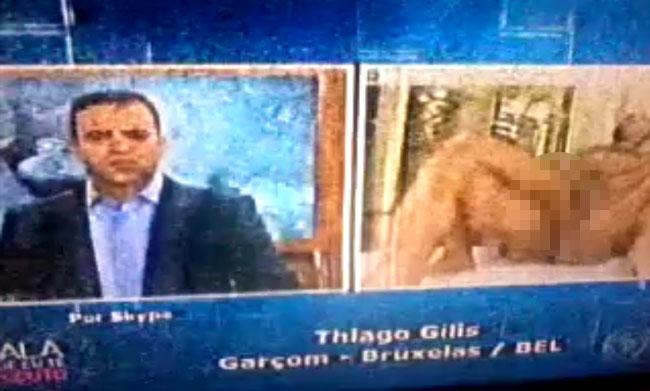 Emittente cristiana brasiliana manda in onda un porno gay durante il telegiornale