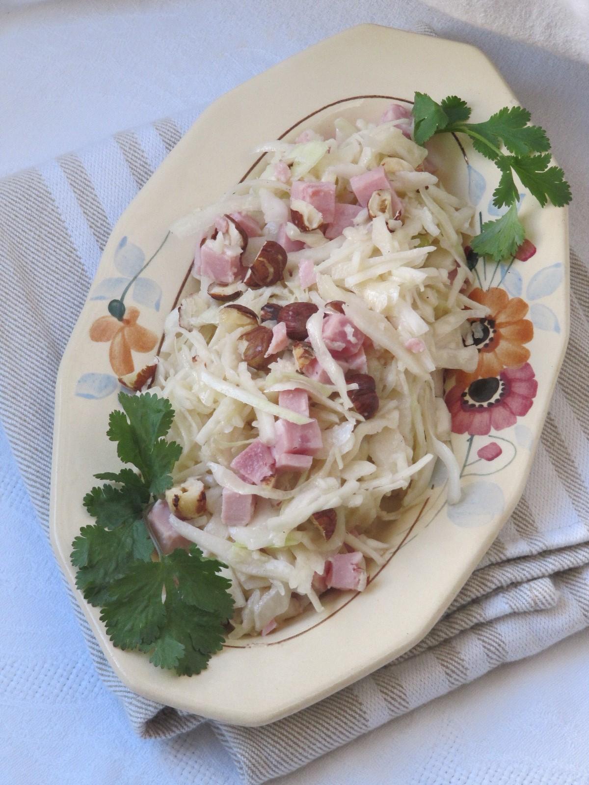 La cuisine d'ici et d'ISCA: Salade de chou blanc