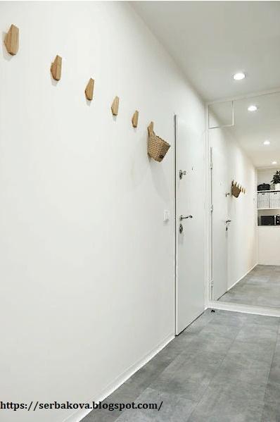 Панельная квартира превратилась в маленькую картинную галерею