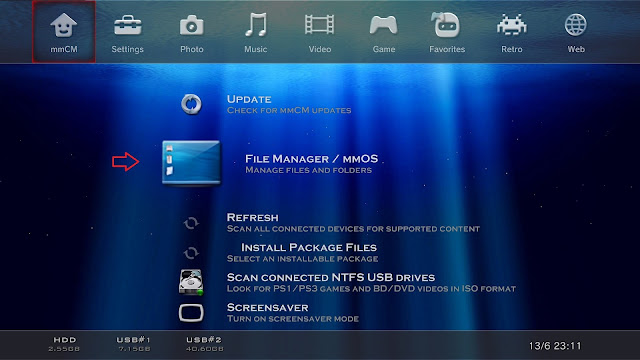 File Manager PS3