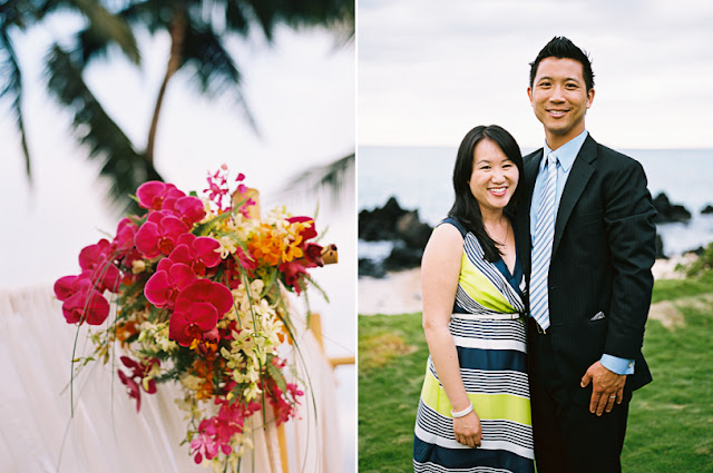 maui wedding flowers provided by bella bloom