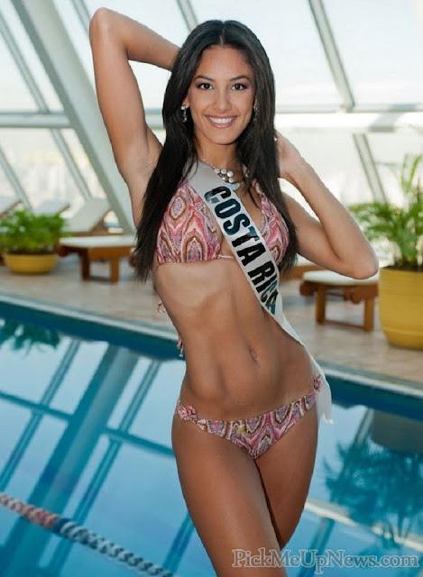 Hot girls Johanna Solano sexy Miss Costa Rica 3