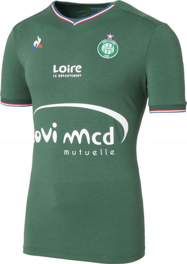 Le Coq Sportif lança as novas camisas do Saint-Etienne - Show de Camisas 67f2080a0f9a4