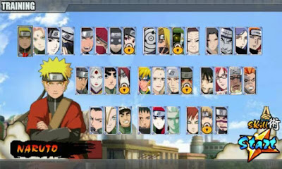 Naruto Senki MOD NSUNS v1.0 MOD Full Characters Apk Android