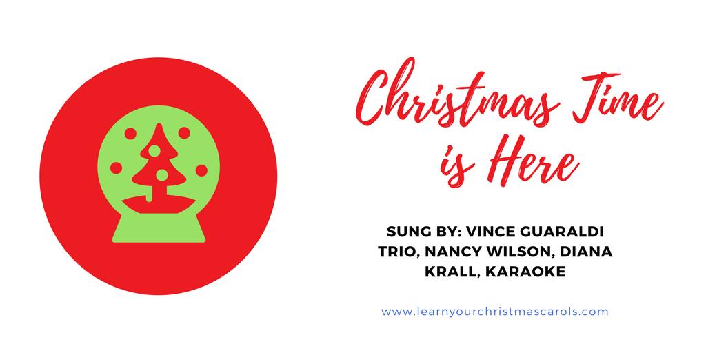 Lyric marine corps hymn lyrics : Learn Your Christmas Carols: Christmas Time is Here - Lyrics ...
