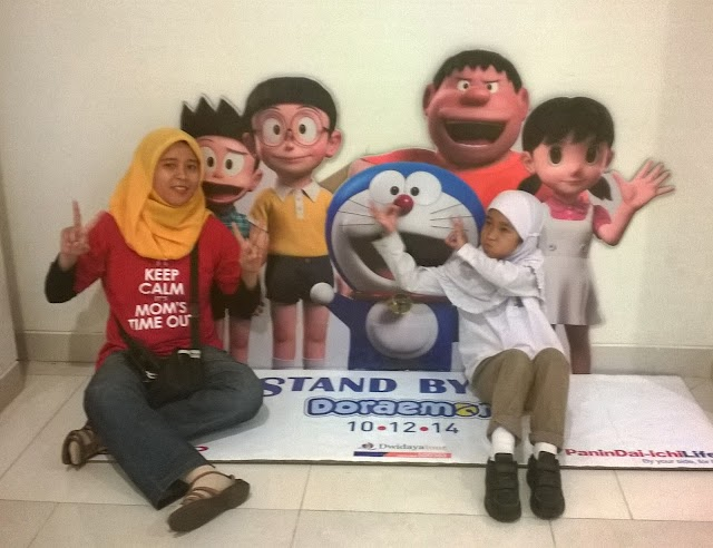 Rela Antre Panjang Demi Stand By Me Doraemon