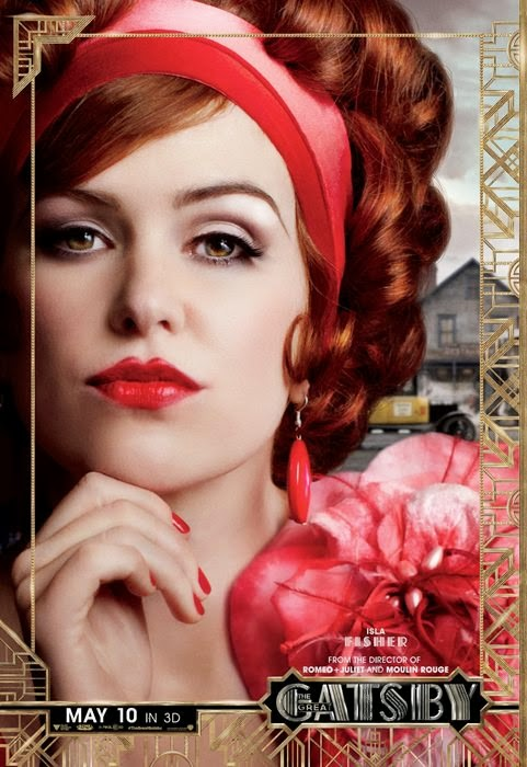 the great gatsby isla fisher