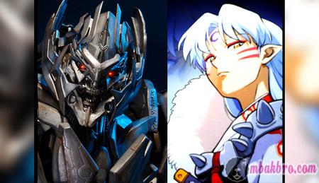 Sesshomaru dan Megatron
