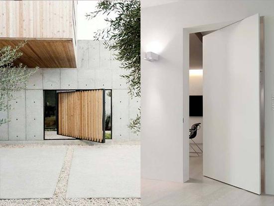 contoh Desain Pintu Besar Minimalis