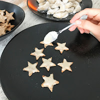 VEGAN CHRISTMAS STARS