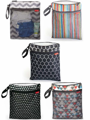 Hop Skip and Go Wet Dry Bags. Perfect for busy moms