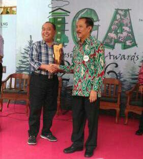 Banyuwangi raih green Award 2016.