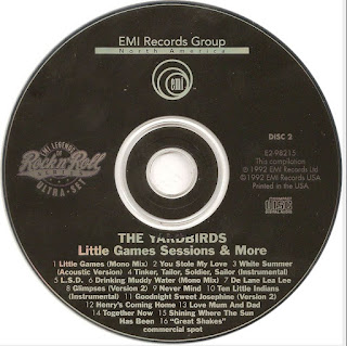 The Yardbirds - The Yardbirds: Little Games Sessions & More