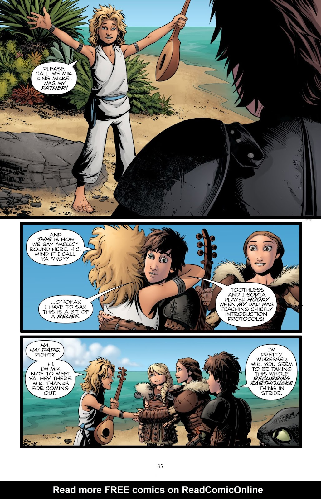 Read online How To Train Your Dragon: The Serpent's Heir comic -  Issue # TPB - 36