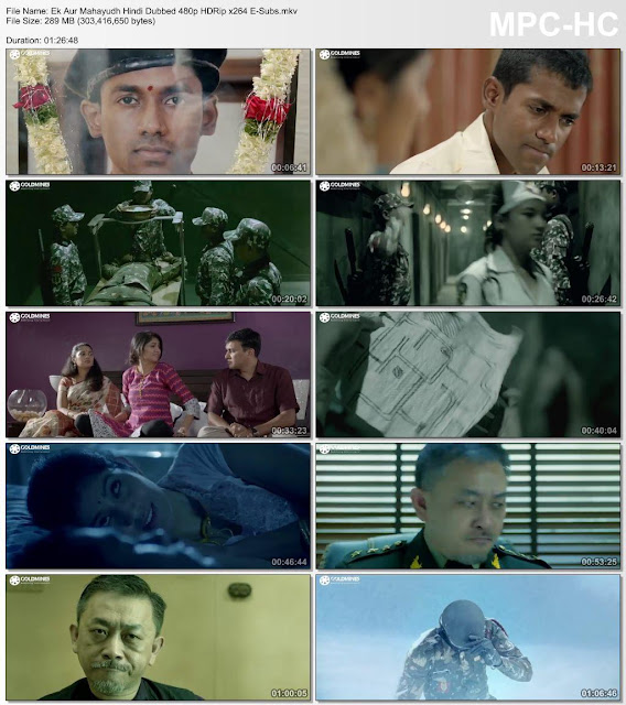 Ek Aur Mahayudh (2018) Hindi Dubbed Full Movie Download 480p HDRiP x264 E-Subs 290MB