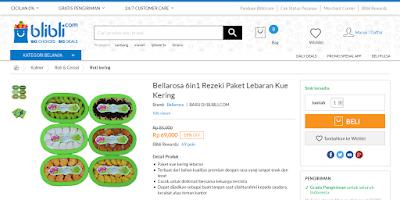Belanja Kue Lebaran Murah di Toko Online