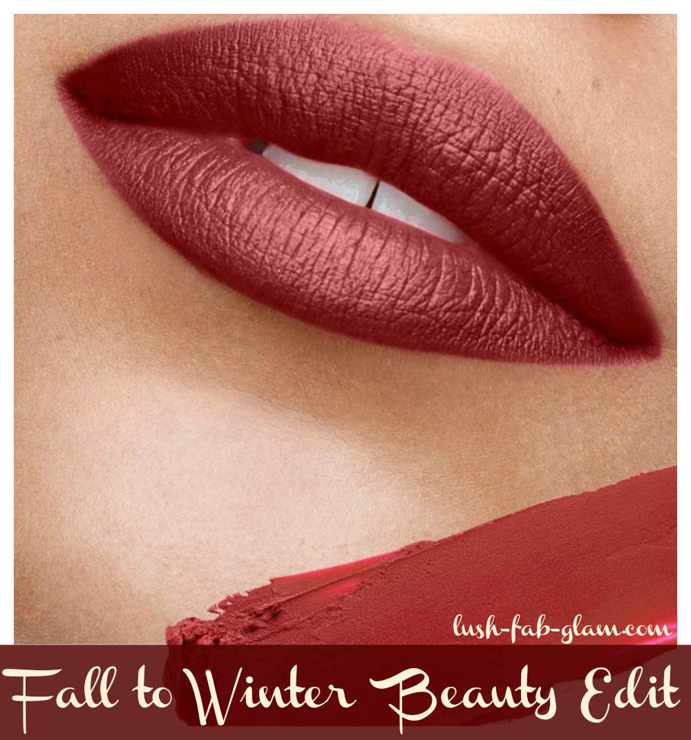 The Ultimate Fall to Winter Beauty Edit.