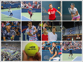 US Open - Top Stars and Players Mosaic