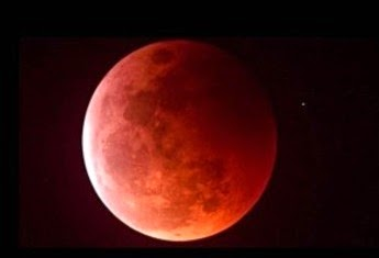 Luna de sangre profecía