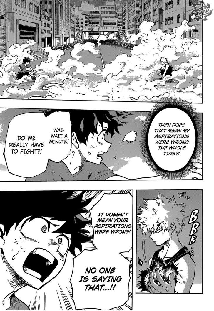 Boku no Hero Academia - Chapter 133