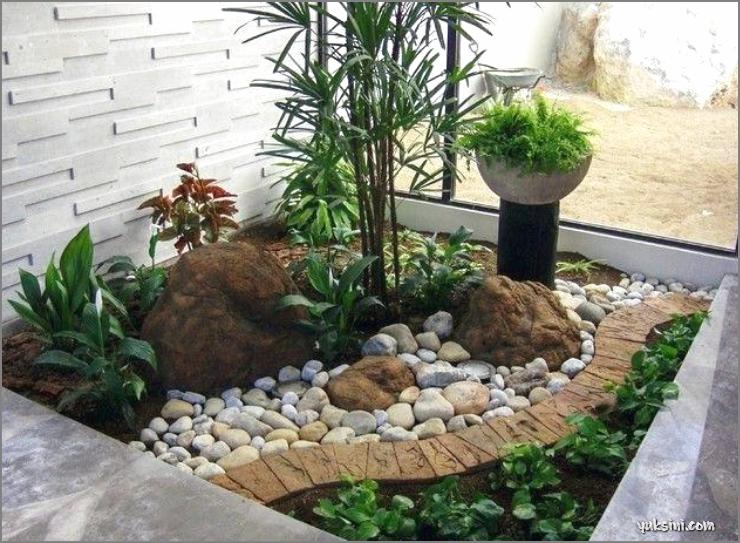 taman kering yang praktis untuk rumah di perumahan