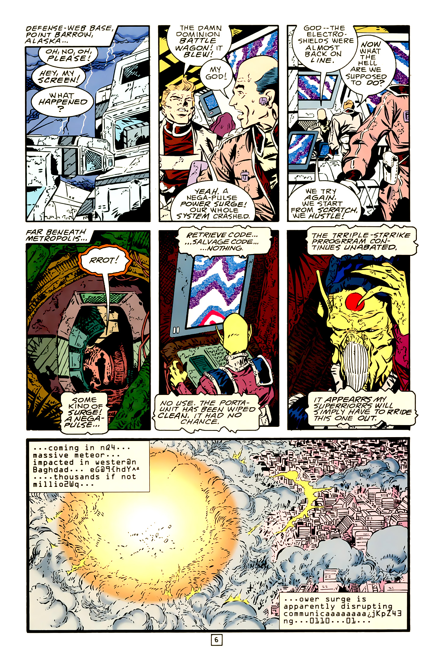 Legion of Super-Heroes (1989) 19 Page 6