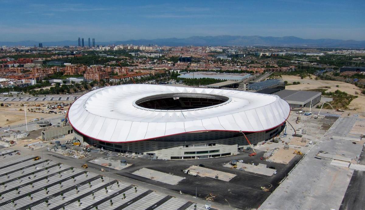 stadio wanda metropolitano madrid