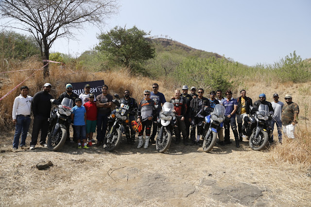 'Tiger Training' Conducted By Triumph Motorcycles In Pune