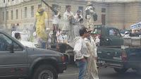 ecoapicultores movilización por un Uruguay Natural pero de verdad sin glifosato